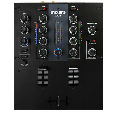 Mixars CUT - 2-Channel Scratch Mixer with mini innoFADER