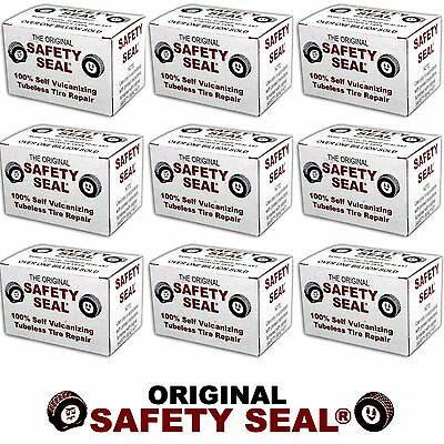 10 Box's Safety Seal Tire Plugs - Tubeless Tire Repair 4 Inch Long 600 pcs