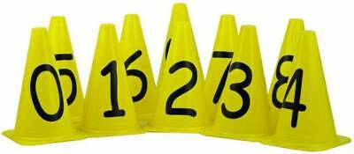 OAS Numbered 0-9 Marker Training Cones