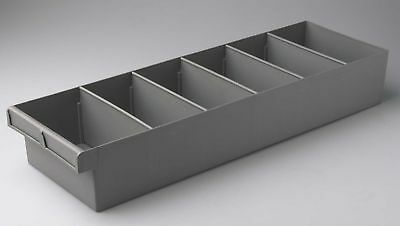 Fischer Plastic Products Storage Spare Parts Trays 200mm x 100mm x 600mm 1H-028