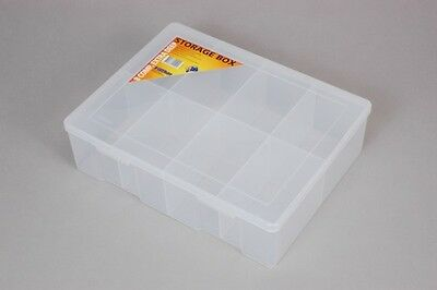 Fischer Plastic Products 8 Compartment Storage Box Extra Large Extra Deep 1H-098