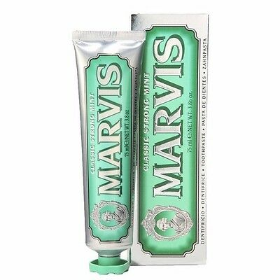 MARVIS  Original Strong Mint Toothpaste 75ml