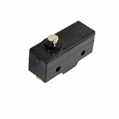 1Pcs AC 250V 15A 1 NO 1 NC 1Com SPDT Momentary Short Push Plunger Micro Switch