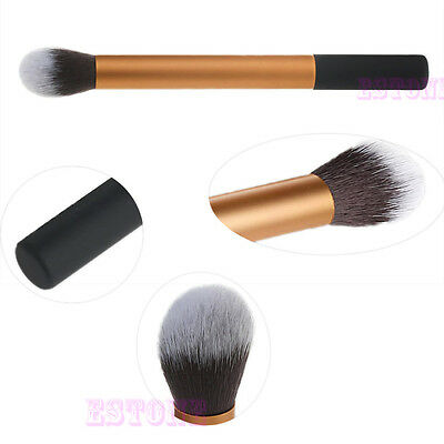 Women Pro Makeup Soft Brush Face Powder Foundation Contour Cosmetic Blush Tool