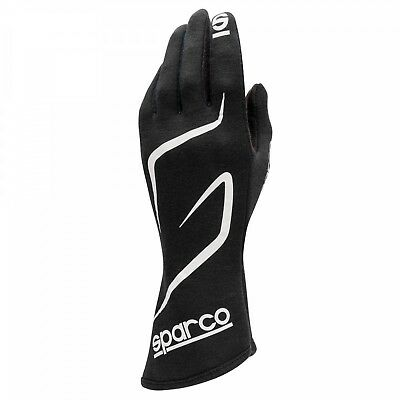FIA SFi Sparco Land RG-3.1 Gloves size 10 Black Rally Race NOMEX Sport Tuning