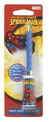 New Spiderman Sound Cake Candle (1)