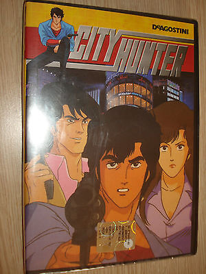 Dvd N° 1 City Hunter Anime De Agostini Deagostini