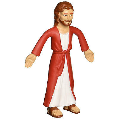"Jesus Bendable 6"" Figure Novelty Action Toy Poseable God Christ Nazareth Gift"