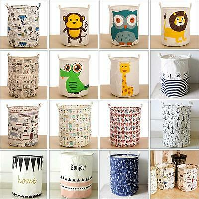All kinds of Lovely Pattern  Washing Clothes Laundry Basket Bag Storage