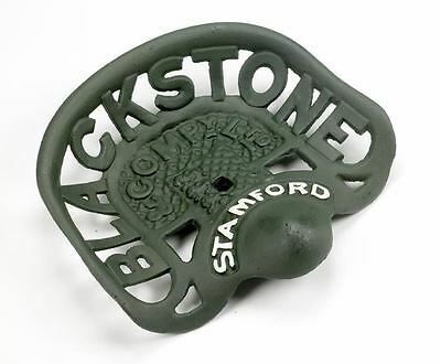 Blackstone Stamford Green Cast Iron Tractor Seat