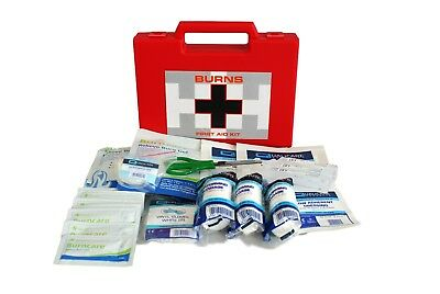 Qualicare Burns First Aid Kit- Kitchen,Scalds,Office,MSD