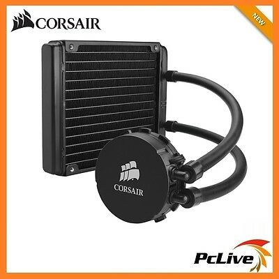 Corsair Hydro H90 Liquid CPU Cooler Fan 140mm Intel 2011 1156 1155 1151 1150 AMD