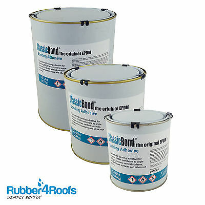 ClassicBond Contact Adhesive Glue for Adhereing EPDM Rubber Roofs