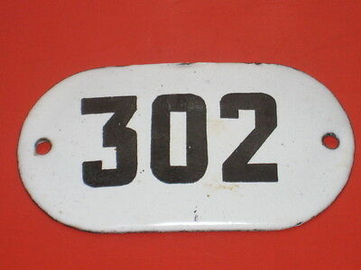 1940s Vintage OLD Big Soviet Russia Apartment Flat Door Hot Enamel Number Sign