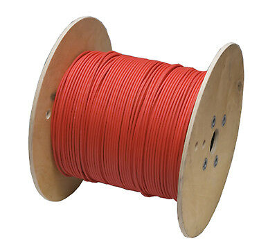 200m 656ft Solar PV cable wire gauge AWG 10 cable RED câble solaire