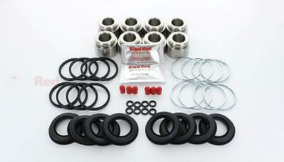 for Ford Sierra Cosworth Front Brake Caliper repair kit pistons STAINLESS RK141