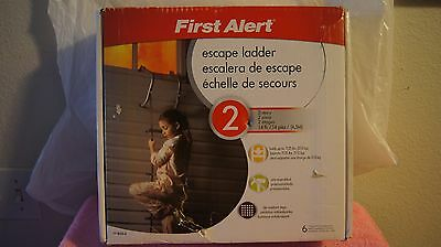 2 Story Foot Long Emergency Window Fire Escape Ladder Home 14' Strong Durable