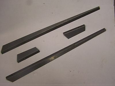 Oliver 1555 1655 Tractor Hood Side Panel Deflector Trim