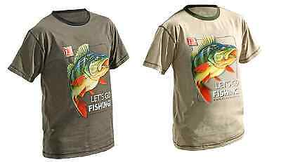 Best Value New Adult Let's Go Fishing Perch T-Shirt M-XXL