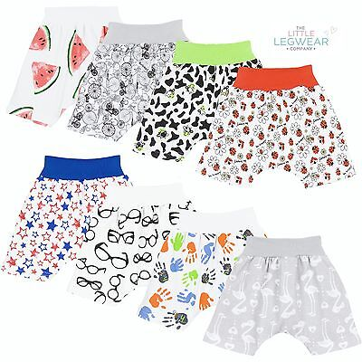 Shorts Harem Style Baby Girls Boys 1-18 Months 100% Cotton