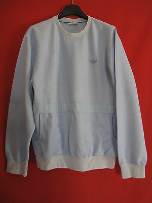 Sweat ADIDAS Femme années 80 Trefoil Made in France vintage Ventex - 38