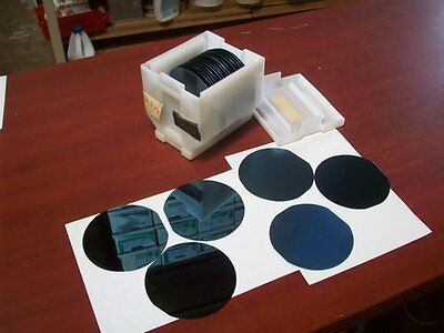 Boat of 25: IKA  Si3N4 Wafer Silicon Slices 125mm