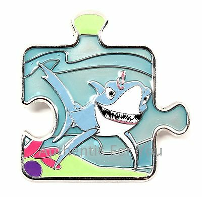 Disney Character Connection Finding Nemo Mystery Puzzle CHASER Pin LE 600 - CHUM
