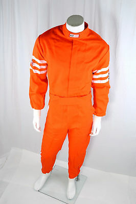 Rjs Racing Sfi 3-2A/1 Classic 1 Pc Suit Xs (Youth 14/16) Fire Suit Orange