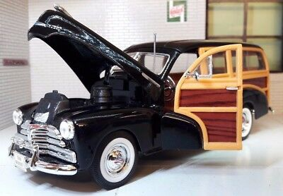 G LGB 1:24 Scale 1948 Chevrolet Fleetmaster Woody Diecast Detailed Model 22083