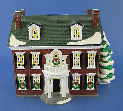 Department 56 American Architecture Series Federal House #5465-8