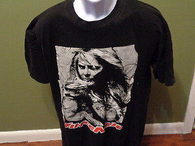Vince Neil Motley Crue Exposed 1993  Solo Tour T-Shirt- Size  ADULT XL LOOK
