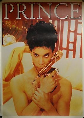 Prince 24x34 New Power Generation Microphone Gun Poster
