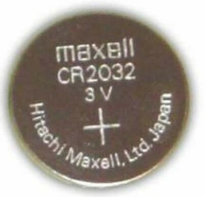 CR2032, Maxell Micro Lithium Cell Battery, 3V Motherboard battery