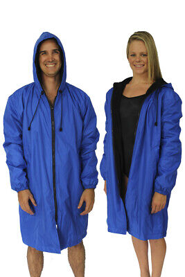 Nova Swimwear Deck Coat Royal. Unisex