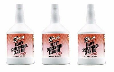Red Line Oil 58204 Full Synthetic Heavy ShockProof Gear Oil (3 Quart)