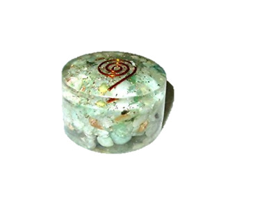 Green Aventurine Orgone Tower Buster Piezo Electric EMF Protection Generator A+