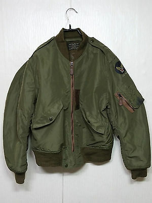 RARE 1950'S USAF TYPE L-2 BUZZ RICKSON REPRO FLYING JACKET US Military Uniform