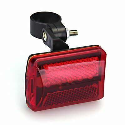 Phare Lampe Feu Arriere 5 LEDs Rouge Pour Velo Bicyclette WT