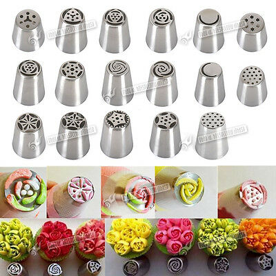 Drop Rose Flower Cup Ice Cream Piping Tip Nozzle Cake Decorating Pastry Tool New