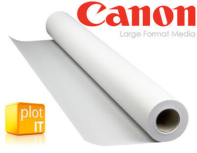 """4 Rolls Canon Photo SATIN inkjet Paper 260g/m A1 24"""" 610mm x 30m wide-format"""