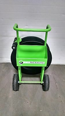 """Industrial Banding/strapping Cart - 10"""" Pneumatic Tires"""