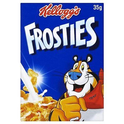 Kelloggs Frosties Portion Pack 20 x 35gm