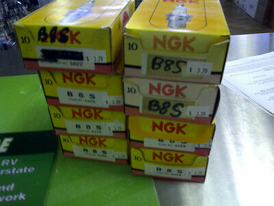 Pack Of 10 New Ngk Spark Plugs B8S