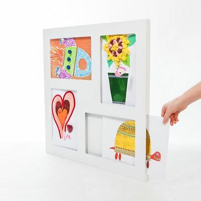 Articulate Kid's A4 Macro Art Gallery Multi Frame Modern Children's Wall Display