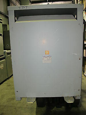 Westinghouse 112.5 KVA 3 Phase 480 X 120/208 Volt Transformer - T757