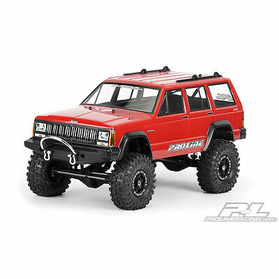 Pro-Line 1992 Jeep Cherokee Unpainted Body for 1:10 Scale Crawlers - PL3321-00