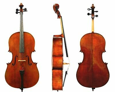 Antique Varnished, Montagnana Sleeping Beauty Model Professional Cello 4/4 Size