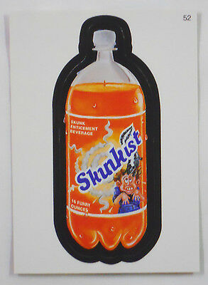 2005 Topps Wacky Packages Trading Card #52-Skunkist-Sunkist