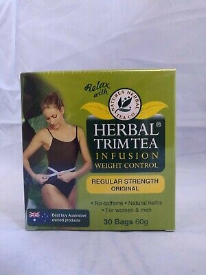 2 Boxes X Nature's Herbal Trim Tea Infusion Diet Tea Lose Weight 30 Bags
