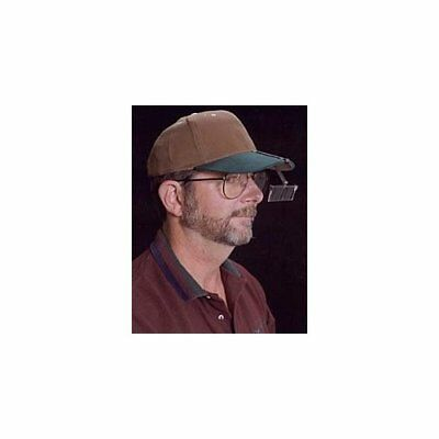 MagEyes HatEyes Magnifier Fits Your Hat! 3 Lens Powers